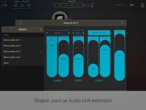 Shaper Smart Audio Destroyer iPad Music Apps Blog
