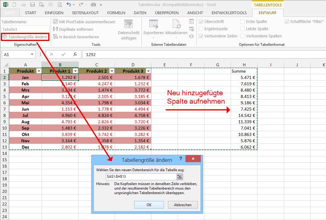 Zum Vergrossern Bitte Auf Das Bild Klicken Excel Tipps Tabelle Seitenlayout