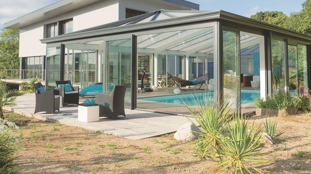construire une v randa conseils pinterest verriere toit v randas et toit plat. Black Bedroom Furniture Sets. Home Design Ideas