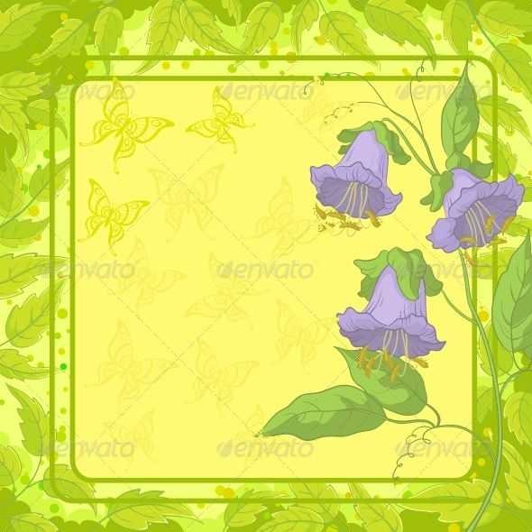 Flowers Frame with Butterfly and Leaves  #GraphicRiver         Kobe flowers on yellow background with frame, butterfly and green leaves   Vector EPS 8 plus AI CS 5 plus high-quality Jpeg. Editable vector file, containing only vector shapes. No gradients. No transparencies.     Created: 4June13 GraphicsFilesIncluded: JPGImage #VectorEPS #AIIllustrator Layered: Yes MinimumAdobeCSVersion: CS5 Tags: Kobe #art #background #blank #bloom #blossom #border #bouquet #butterfly #decor #design #flora…