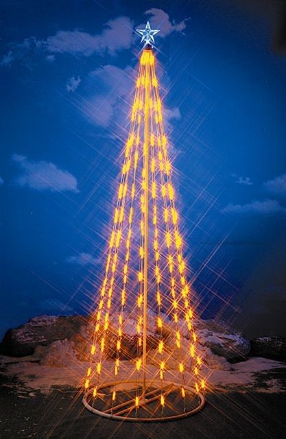 String Light Cone Tree Christmas Decoration Products Pinterest - solar christmas decorations