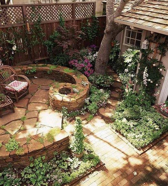 Bildergebnis für gartengestaltung mit naturstein mauern - gartenideen mit naturstein