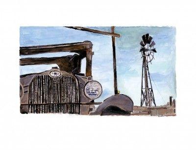 Wilton Iowa Farmyard  The Beaten Path   Bob Dylan