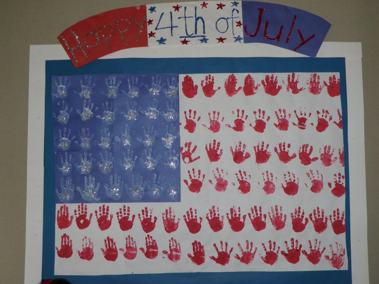 4th Of July Bulletin Board