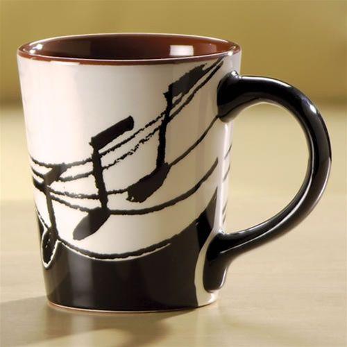 Music Notes Coffee Mug At The Music Stand Mugs Coffee Mugs Music Notes