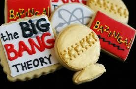 This is big bang theory cookies. Yeah, I wish I was that good with icing.