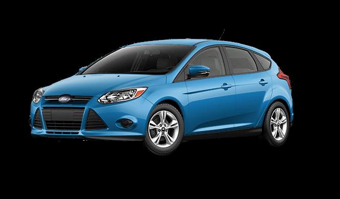Ford Focus Hatchback Blue Center Car Image