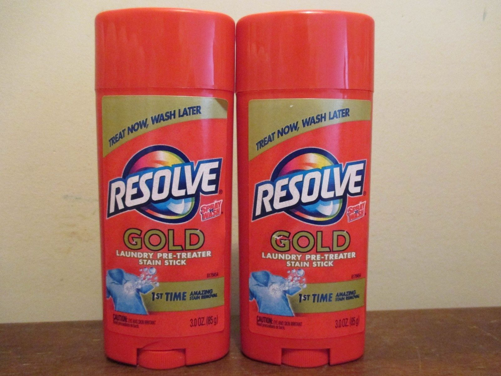 Bleaches And Stain Removers 172208 2 Resolve Gold Laundry Pre