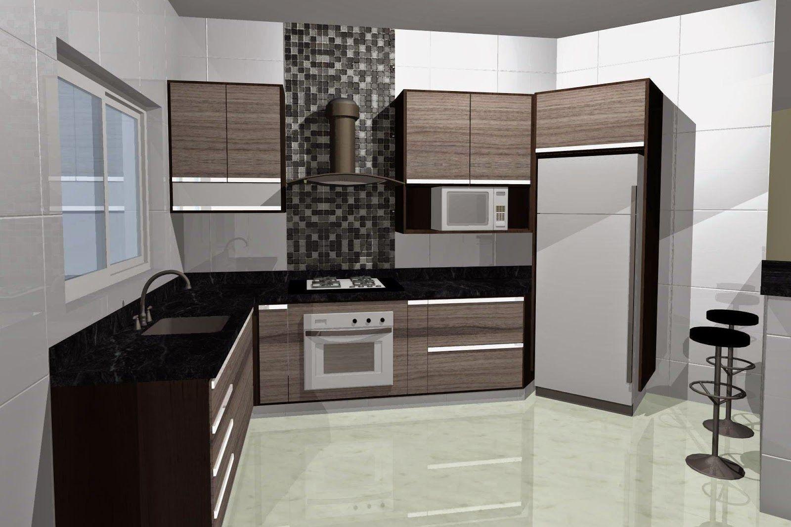 Construindo Nosso Lar Projeto Cozinha Planejada Atualizado