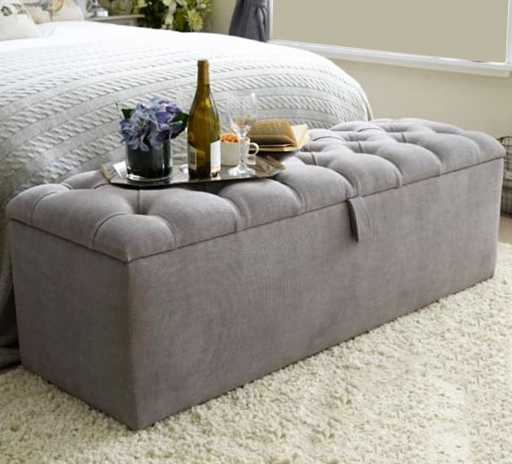 Ottoman Box Available In All Standard Sizes Ebay Storage Ottoman Ottoman Storage Ottoman Bench [ 906 x 1000 Pixel ]