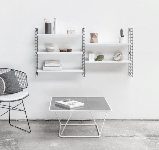 regal von metaltex auf sturbock new flat shelves bookshelves und white bookshelves. Black Bedroom Furniture Sets. Home Design Ideas