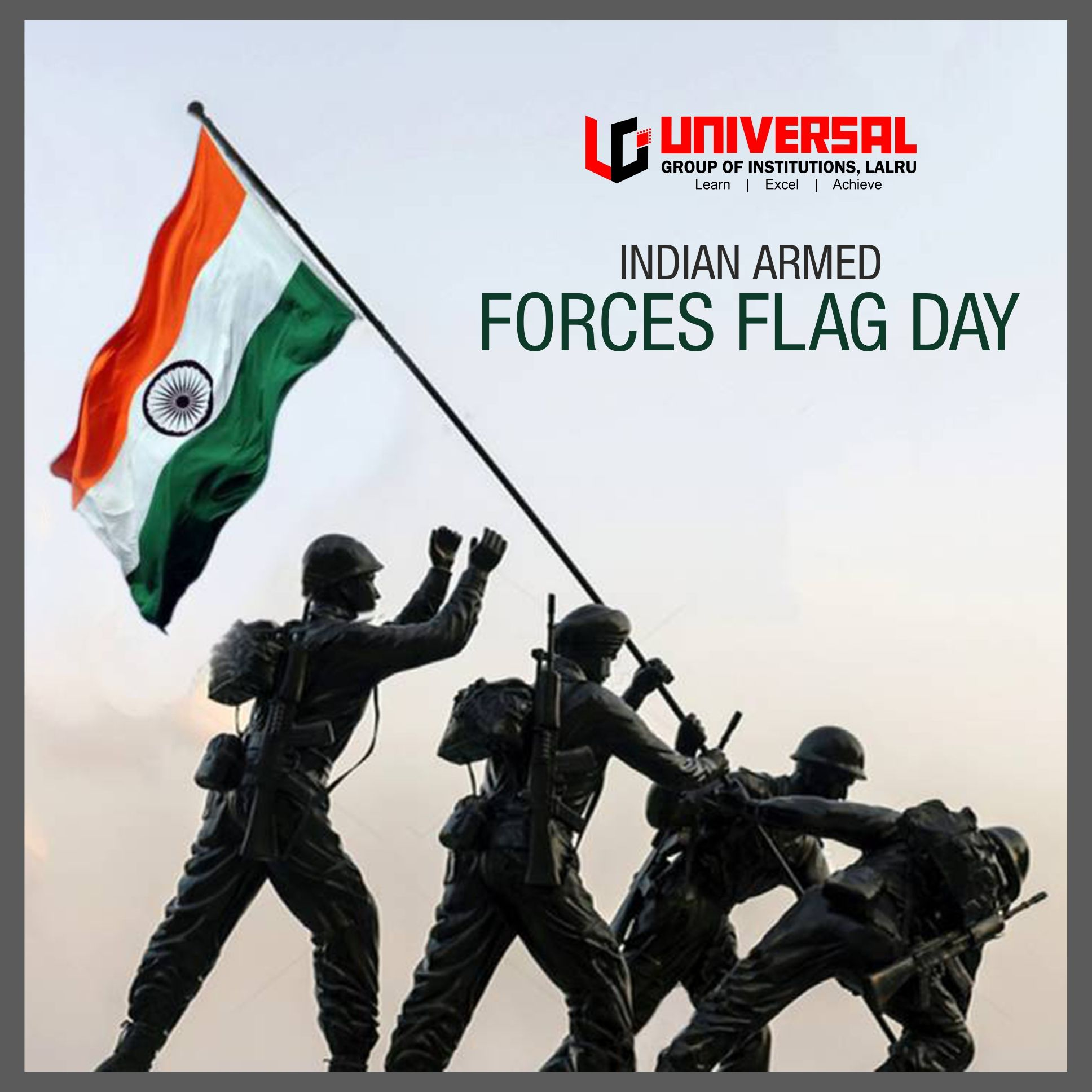 The Armed Forces Flag Day Is Celebrated All Over India Every Year On 7th Of December In Order To Collect The Fu Armed Forces Flag Day Armed Forces Best Dentist