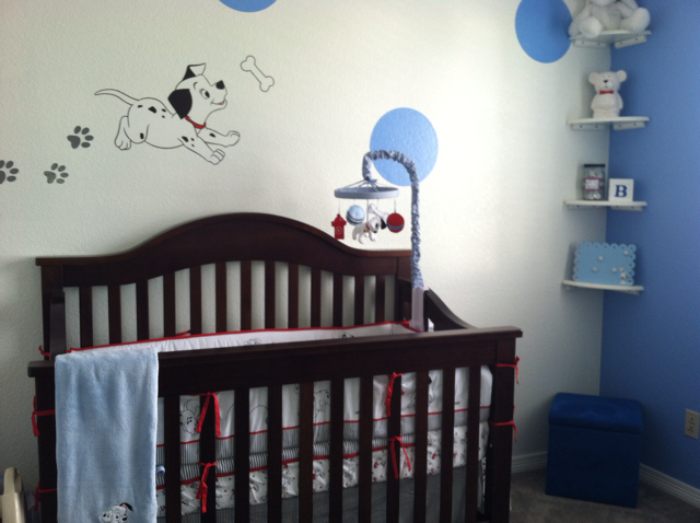 Disney 101 Dalmatians 10pc Crib Bedding Set New Ebay Disney Baby Nurseries Baby Boy Themes Disney Baby Bedding