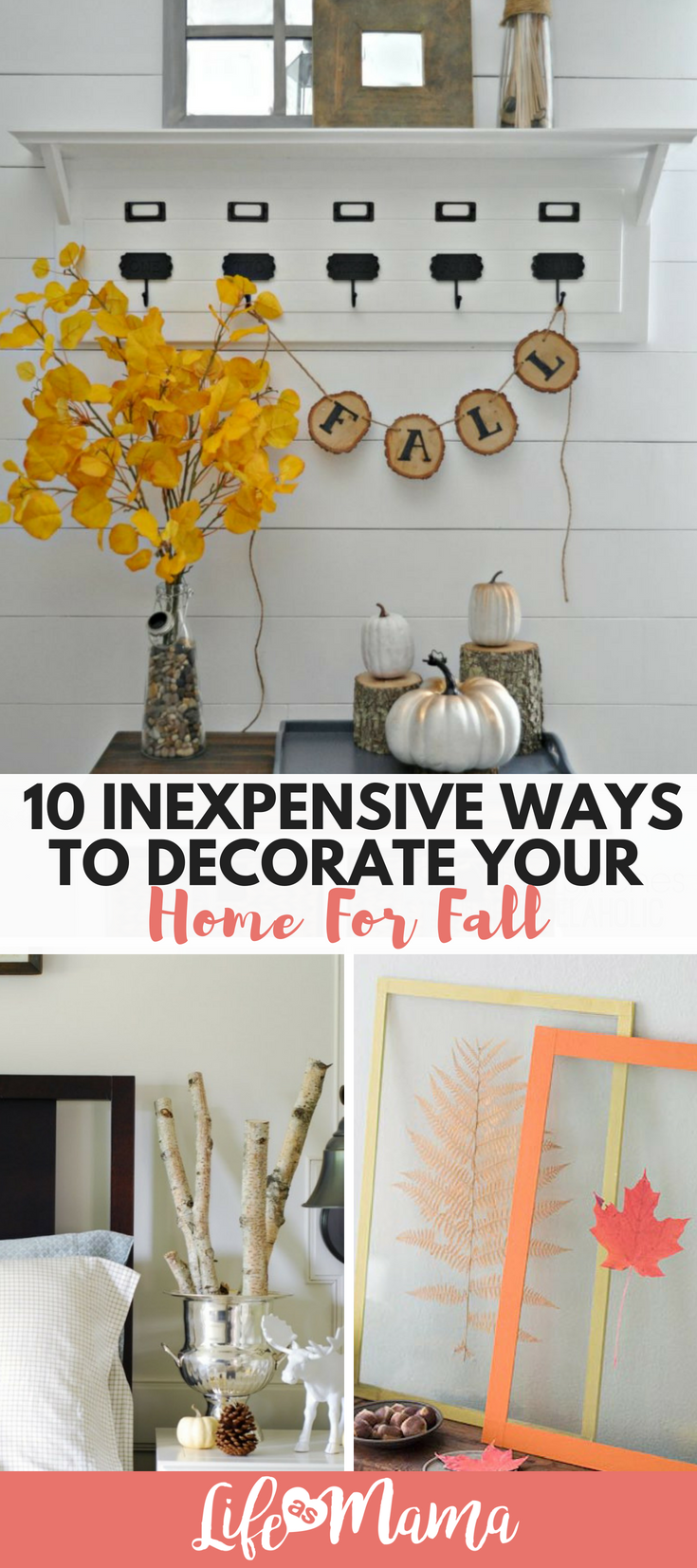10 inexpensive ways to decorate your home for fall home decor