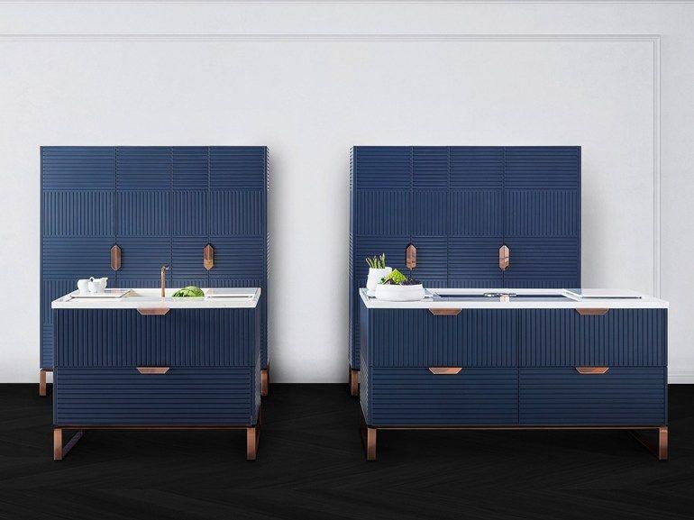 Kitchen Design Handles kitchen with island with handles miucciatm italia cucine