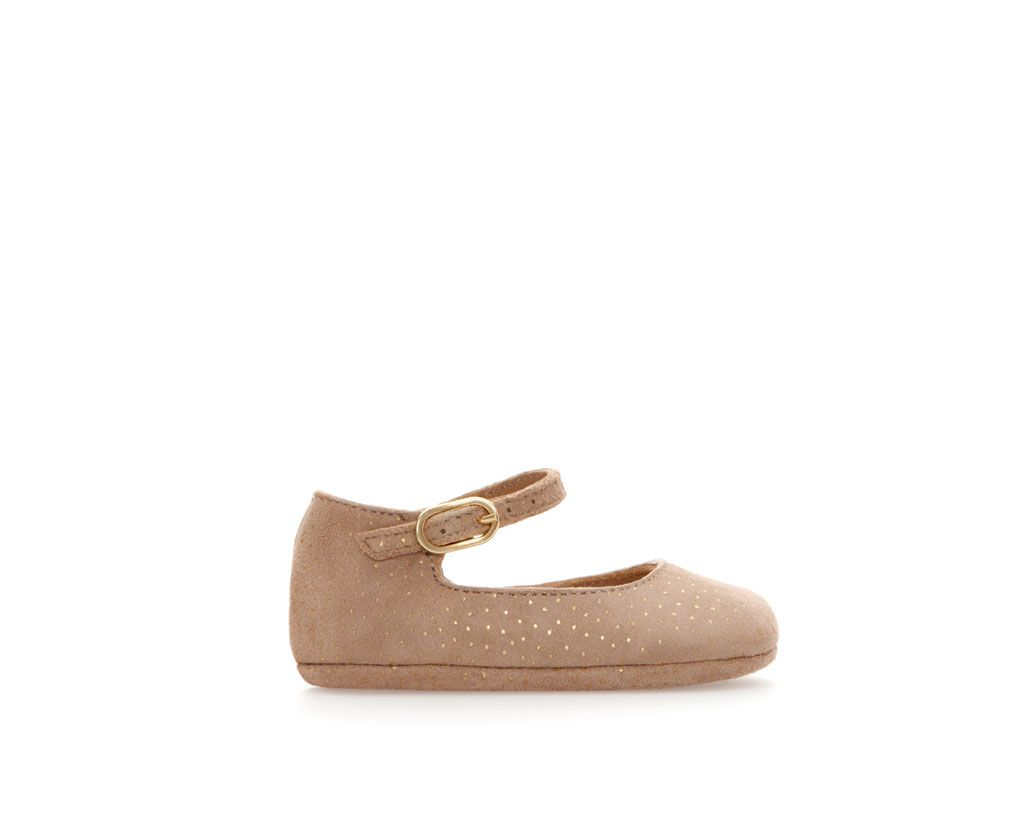 Image 1 of Fantasy leather ballerina from Zara (With images