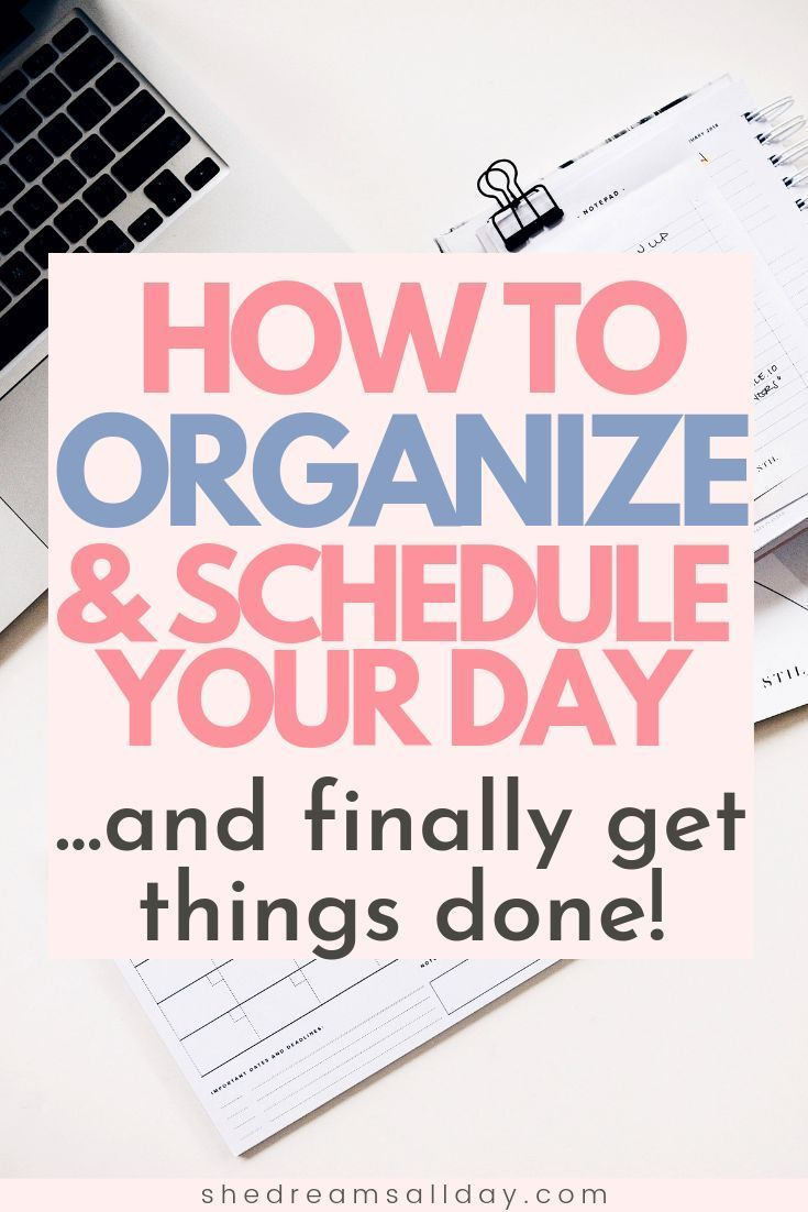 How To Plan Your Day And Stick To It - Like A True Girl Boss