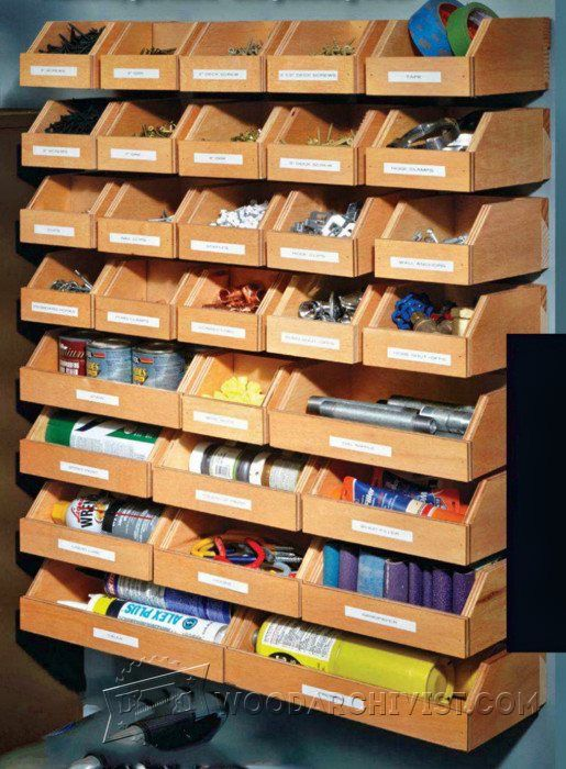 Diy Hardware Organizer Workshop Solutions Projects Tips
