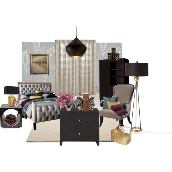 Guest Bedroom, Created By Hastypudding On Polyvore