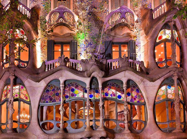 Spain Barcelona Casa Batllo Casa Batlló Gaudi Gaudi Barcelona
