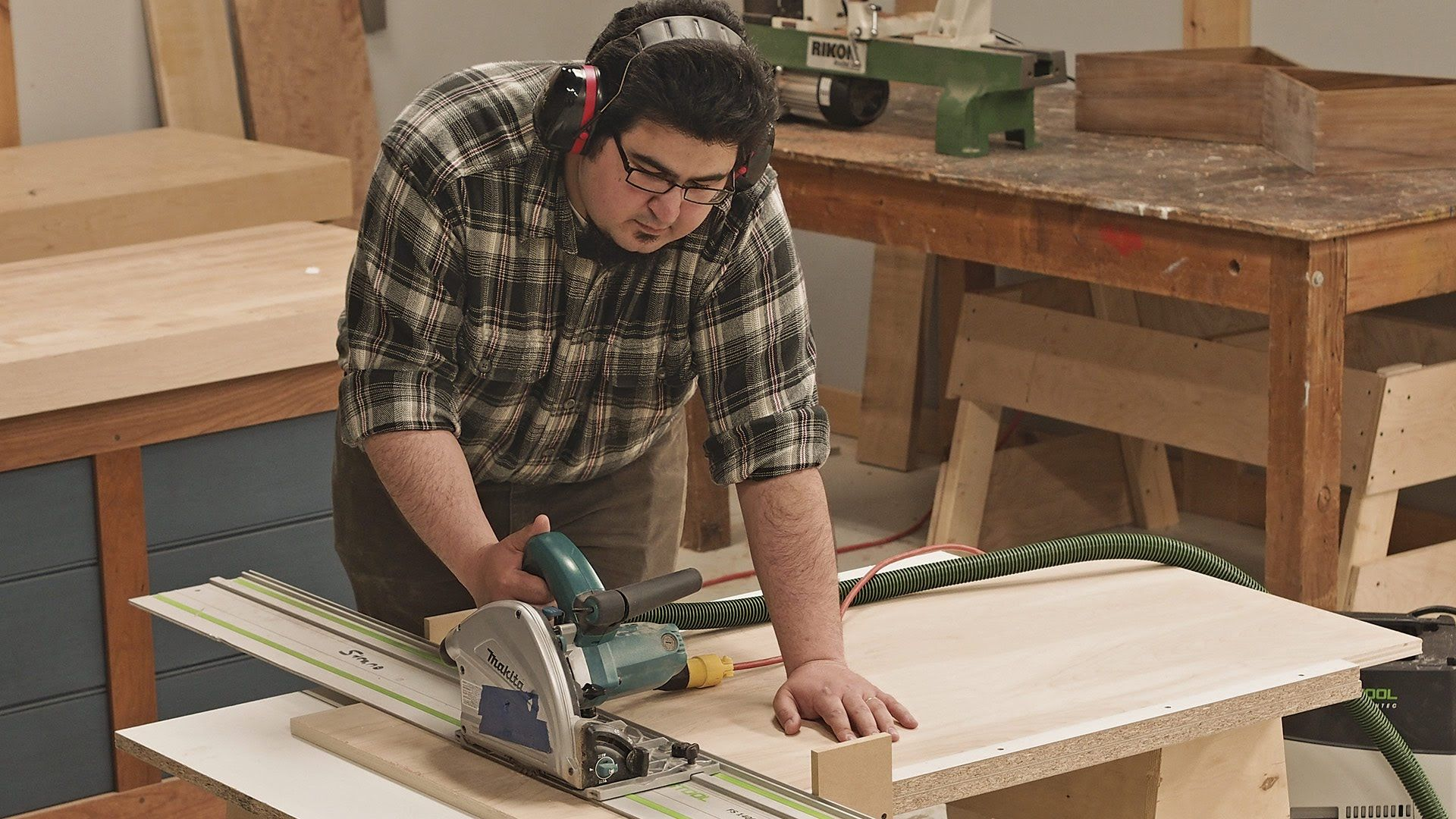 Track Saw Crosscut Table Youtube