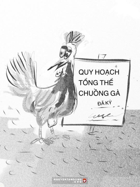 Không cấp phép chuồng gà vì ảnh hưởng giao thông đường thủy