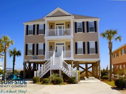 Surfside Beach Vacation Rental House Blessed View Myrtle Beach