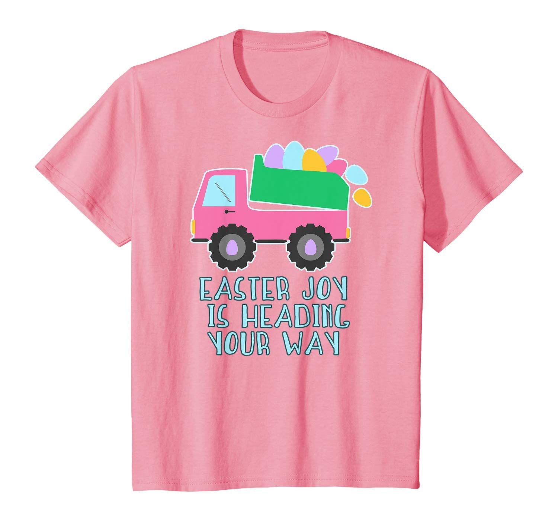 Easter dump truck shirt!