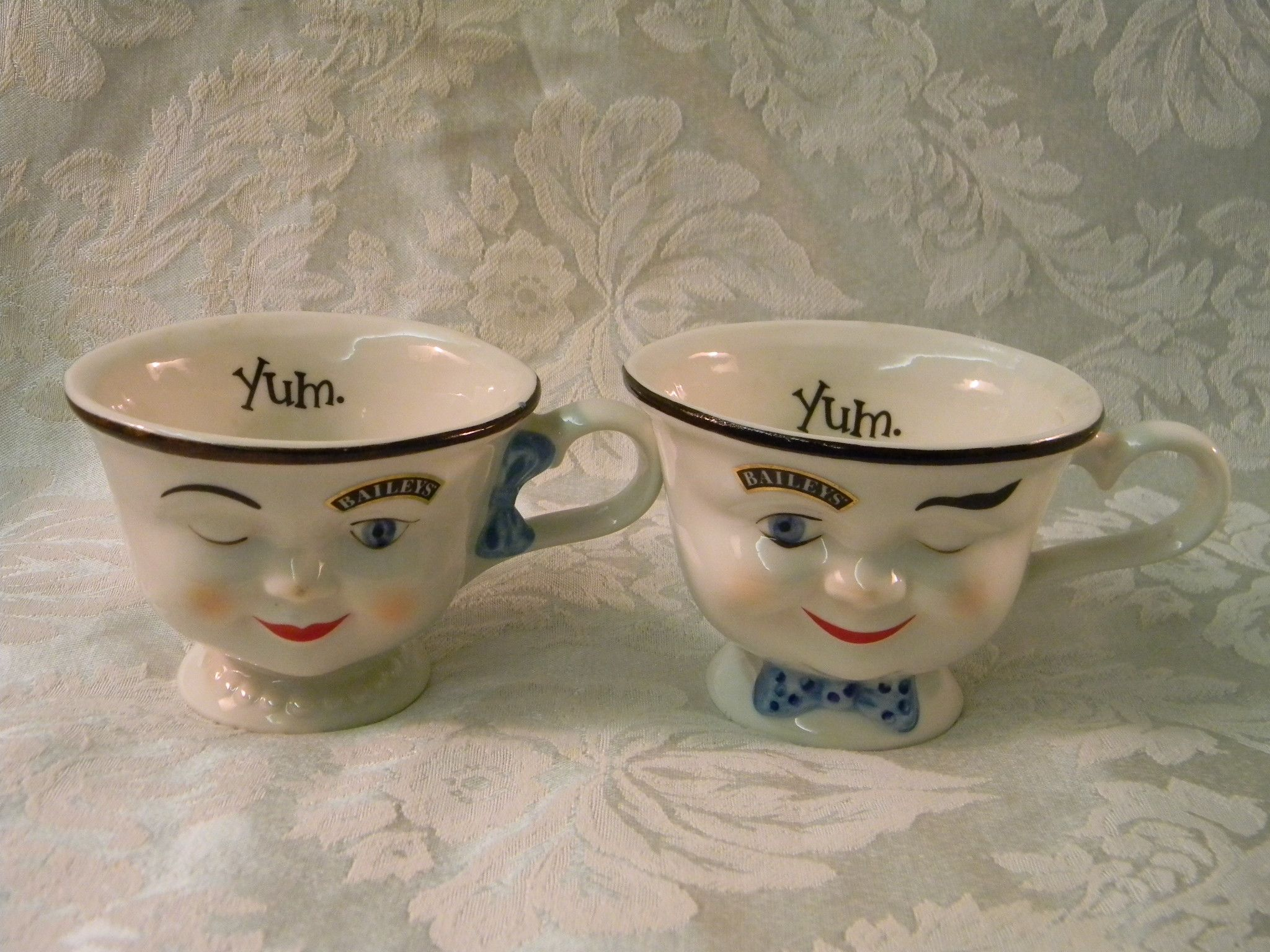 Vintage Baileys Face Mugs Face Mug Mugs Tableware