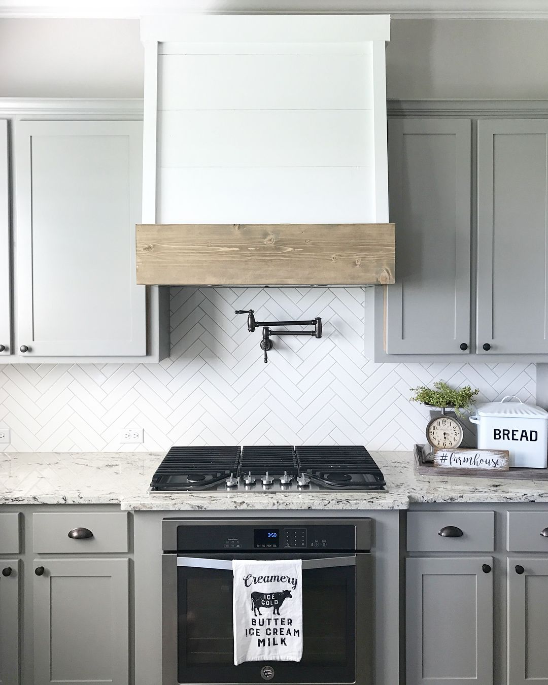 The Faux Oven Hood If You Re Familiar With Our Account