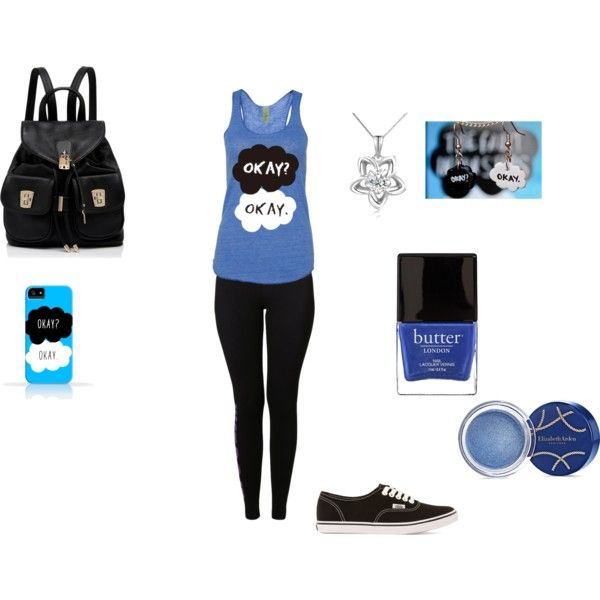 """easy school outfit"" by mackayla34 on Polyvore"