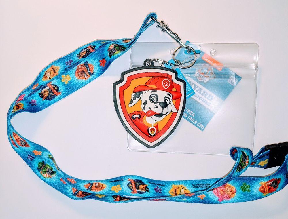Disney Princesses Hot Pink Lanyard ID Ticket Badge Key Chain Holder Wallet