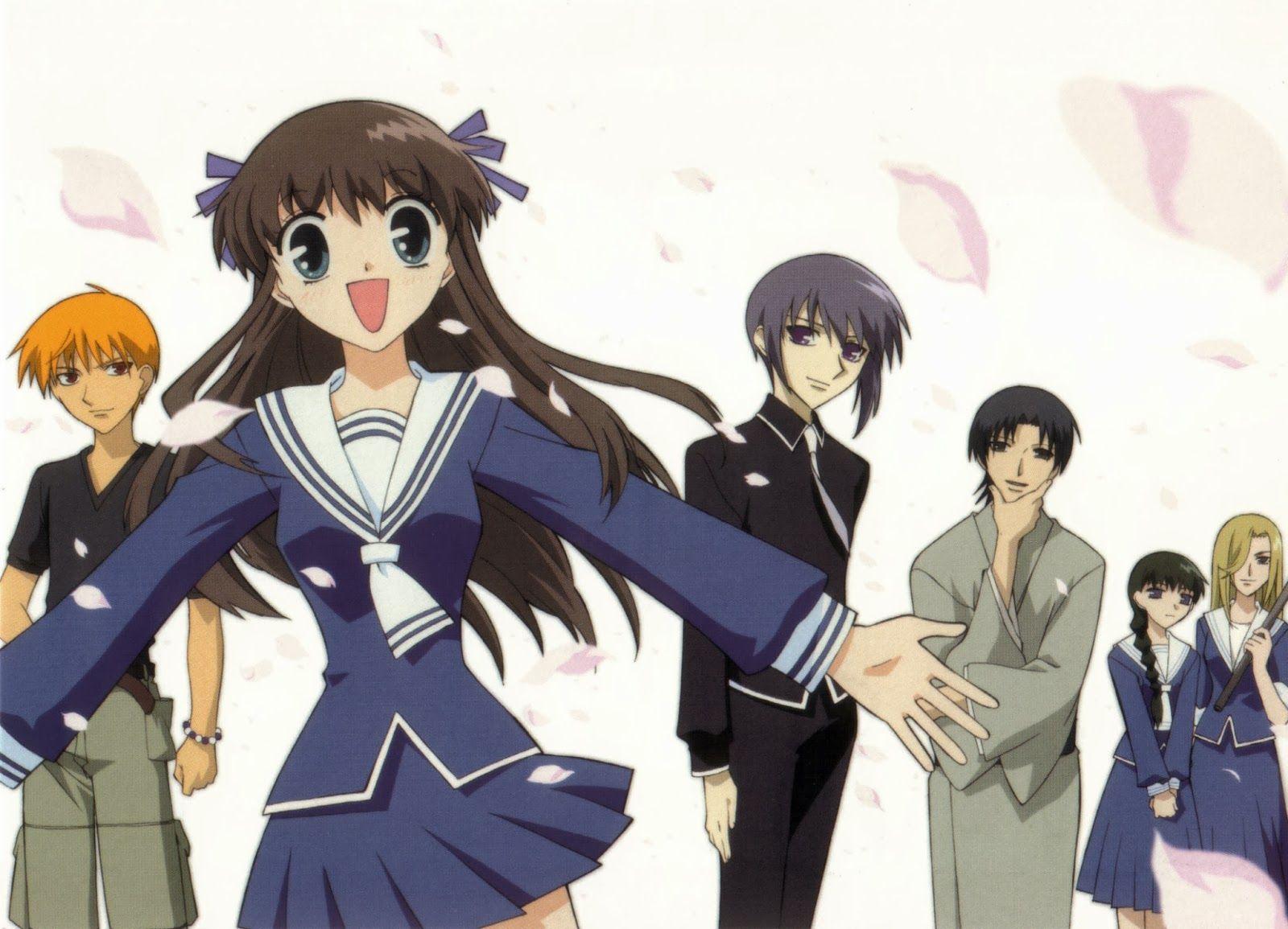 Fruits Basket Romance anime list, Anime release, Slice