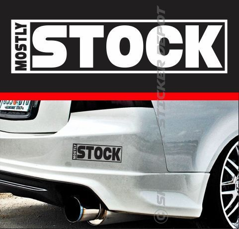 Mostly stock funny bumper sticker vinyl decal jdm dope hatchback fit honda acura