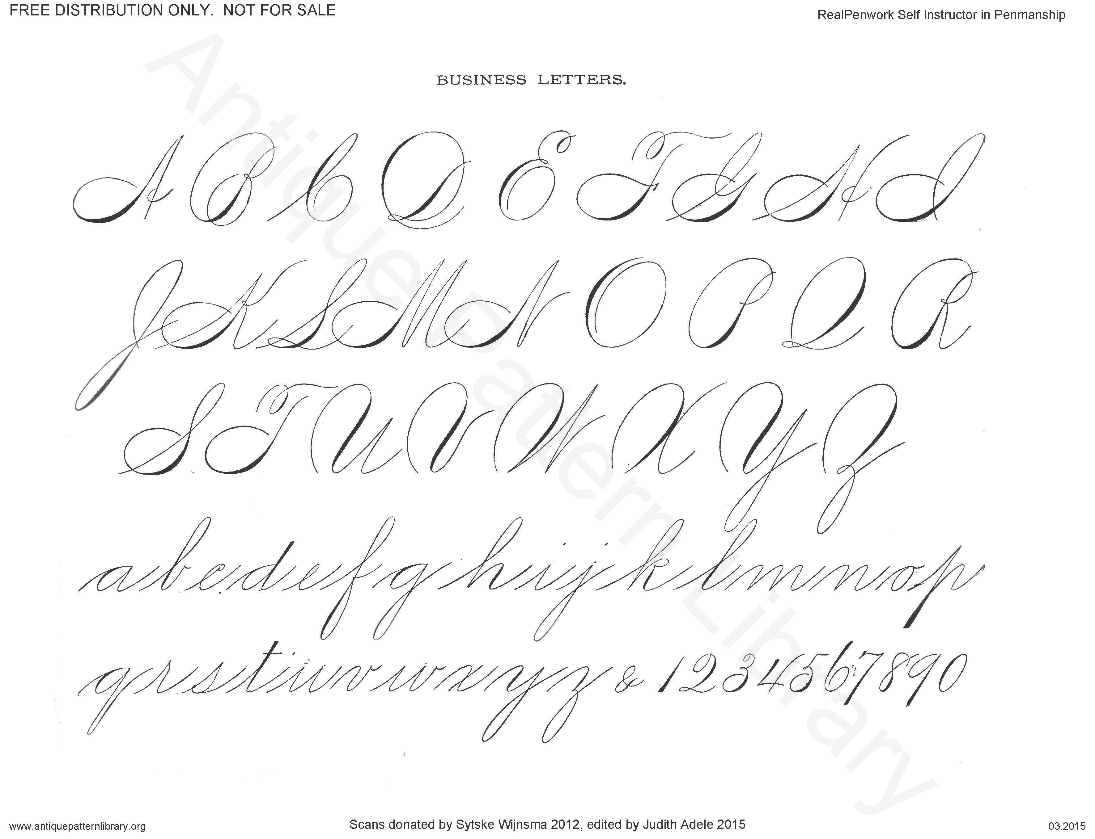 3 543 2 717 pixels spencerian penmanship pinterest schriftarten und buchstaben. Black Bedroom Furniture Sets. Home Design Ideas