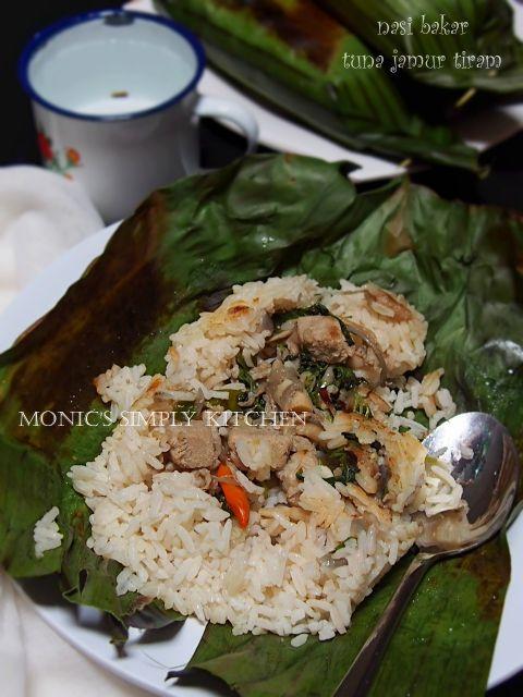 Nasi Bakar Tuna Jamur Tiram Resep Masakan Resep Makanan Jamur