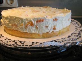 Mandarinen Sahne Quark Torte Rezept Vkusnyatina Pinterest
