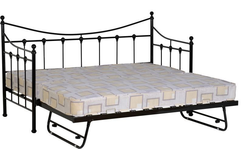 Turino Daybed Cheap Bed Frame Black Bedding