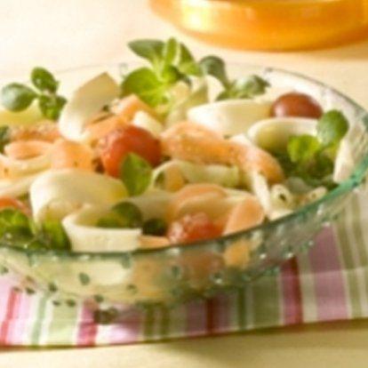 Salade de tagliatelles au Cœur de Lion