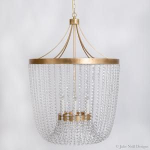 Adelaide Large Chandelier In Gold
