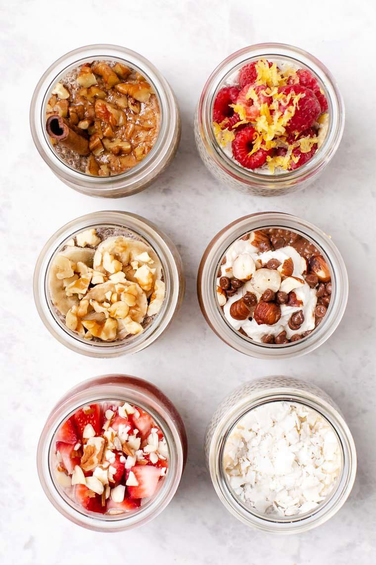 6 Ways to Make Healthy Chia Pudding images