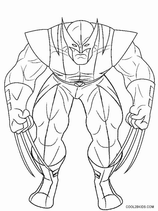 Wolverine Coloring Pages Coloring Pages Coloring Pages For Kids