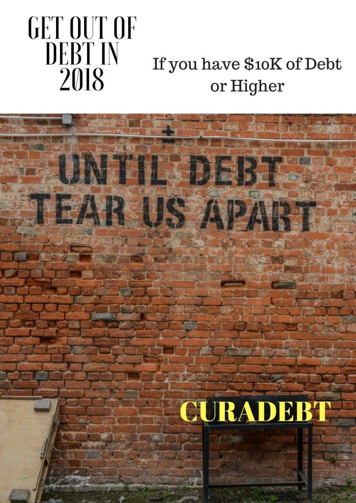 Get out of debt in 2018 but use a credible credit repair