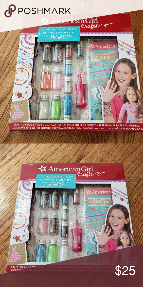 American Girls Crafting Kits Have Been Opened But None Was Used I