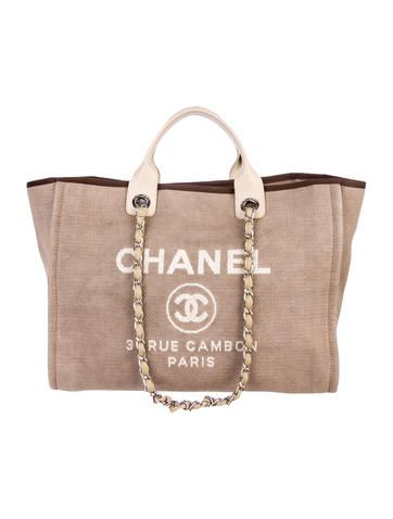 1365f8dc797c Deauville Large Tote | J'adore chanel ♡♥ | Bags, Chanel, Chanel tote