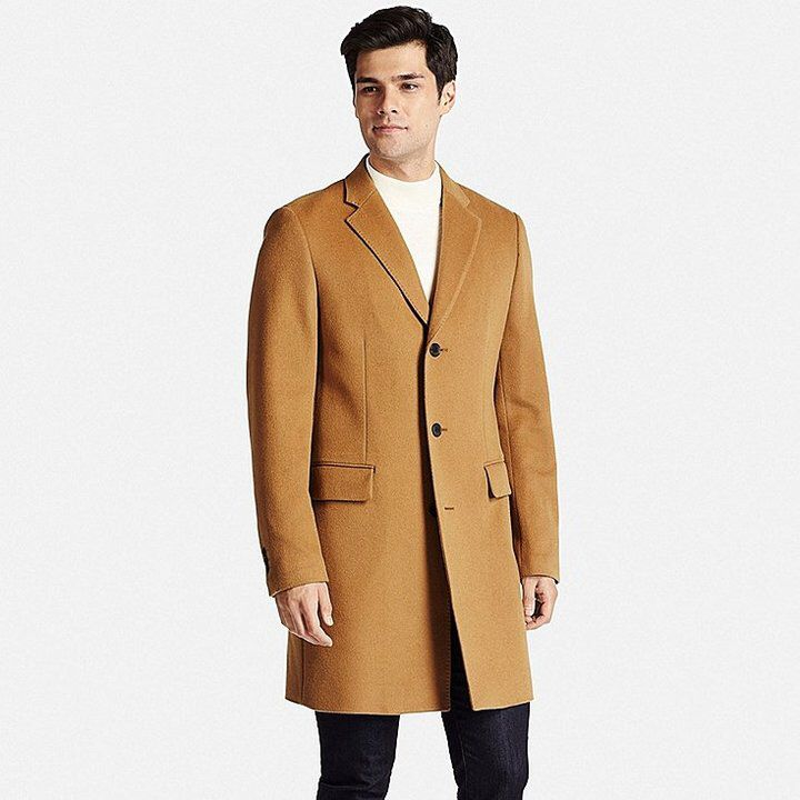 Men Wool Cashmere Chesterfield Coat   Men s Style   Chesterfield ... 4253d98faede