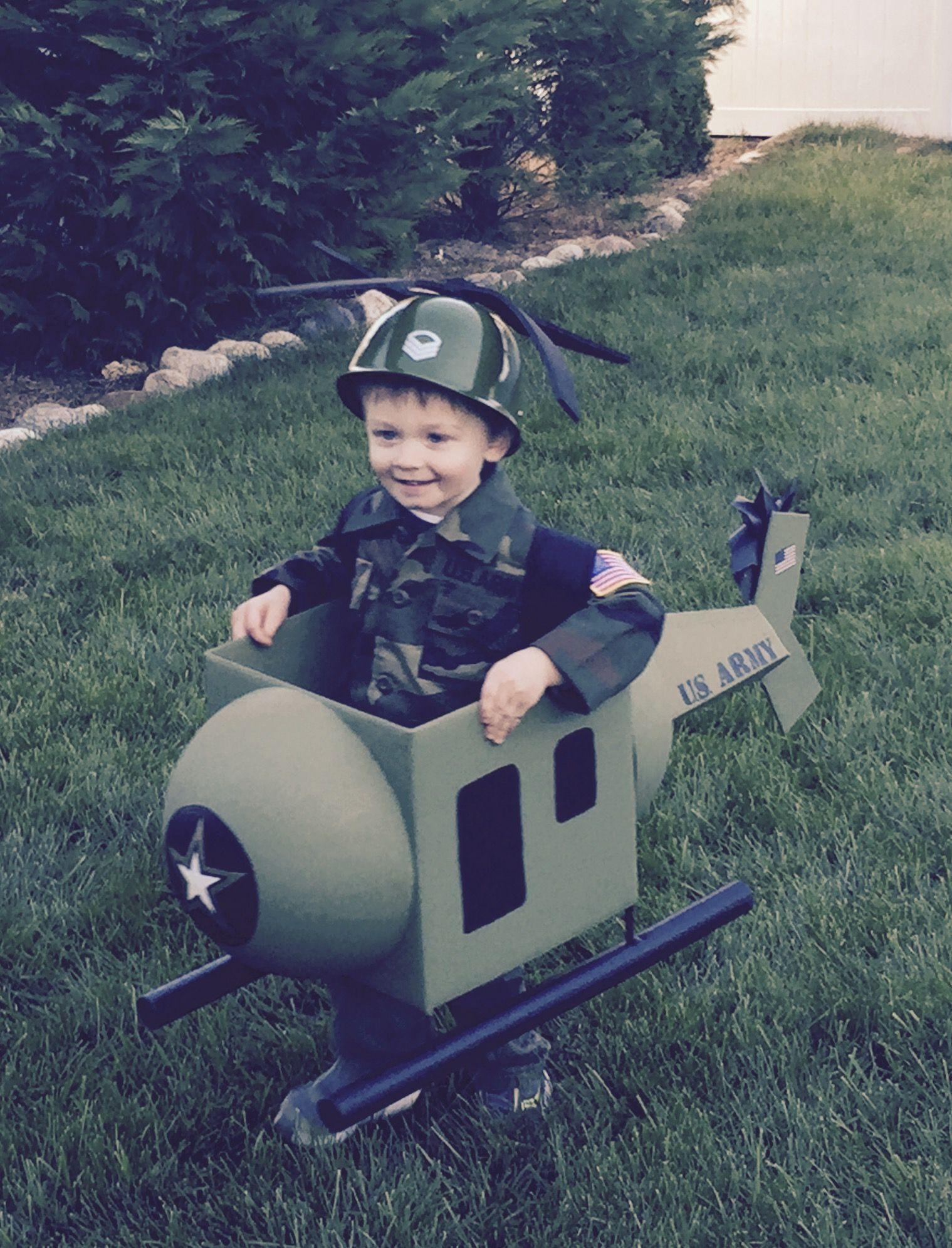 Halloween Costume Helicopter