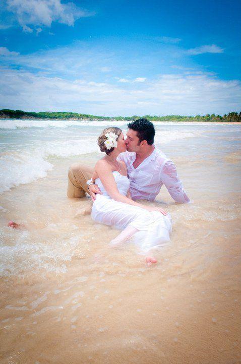 Trash The Dress Water Beach Ocean Kiss Love Sand Beach