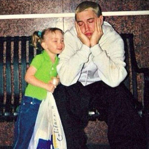 Eminem & Hailie Mathers