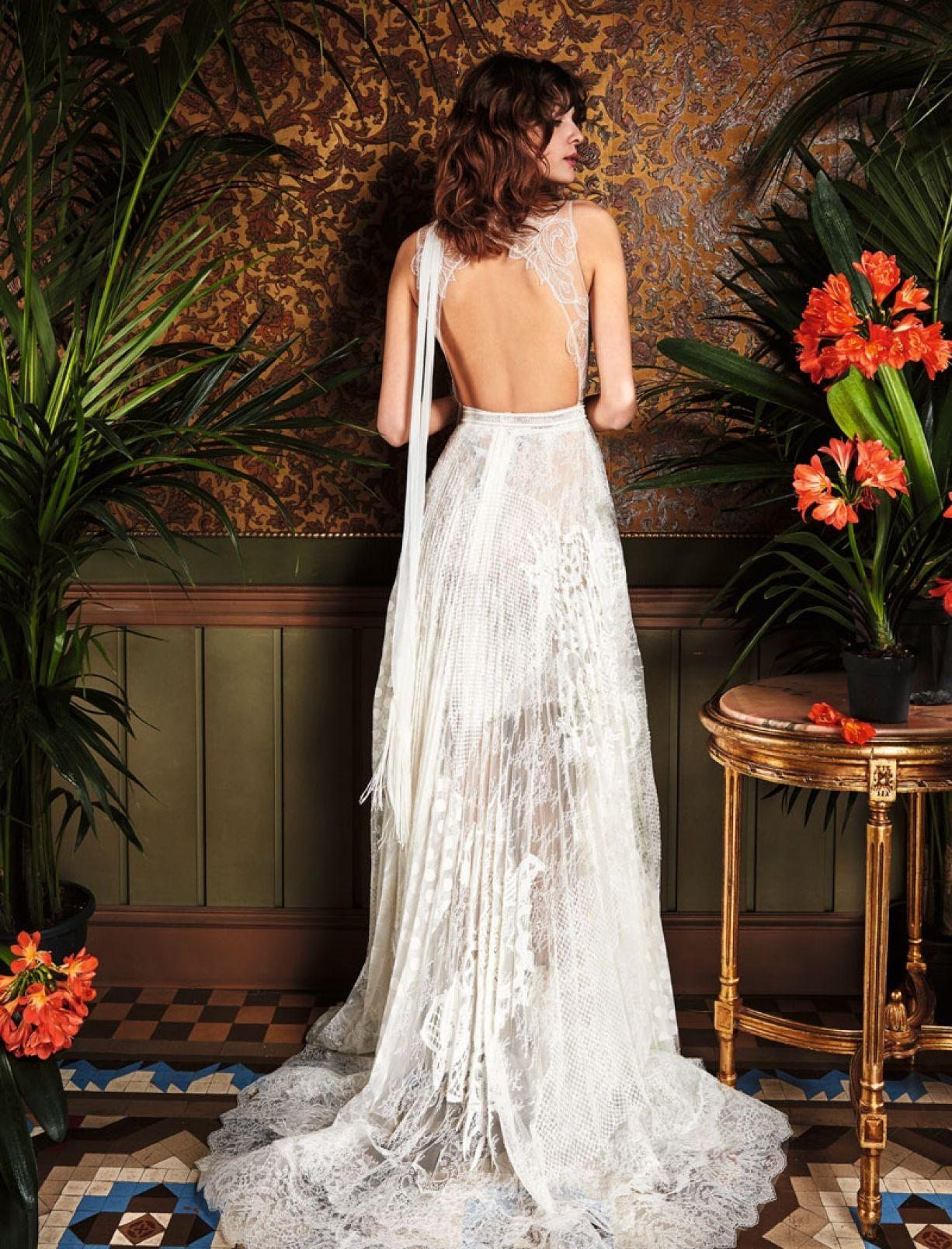 Yolancris pinillo wedding dress fashion world pinterest